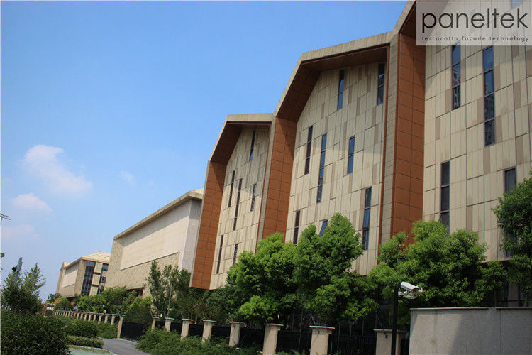100 Clay Terracotta Cladding Exterior Wall Facade Materials With Various Colors And Shapes